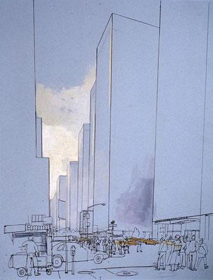 Lucinda Rogers: New York streetscene
