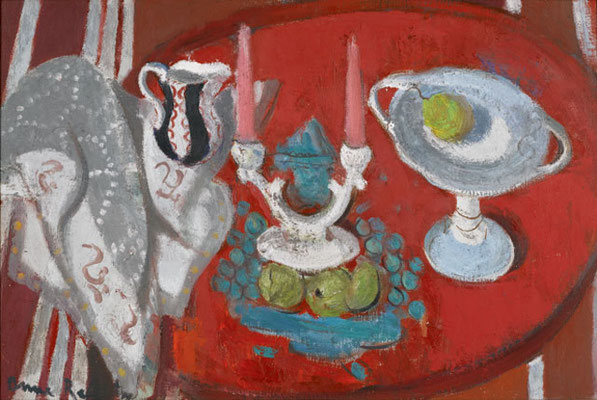 Anne Redpath: Spanish candlesticks
