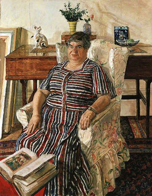 Carel Weight: Miss Orovida Pissaro