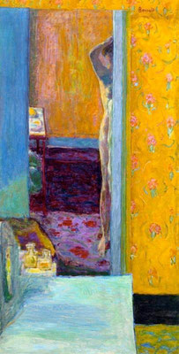 Pierre Bonnard: Nude in an interior