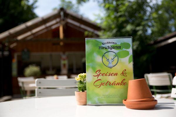 Der Kirchheimer Hirschgarten - Biergarten unter Kastanien - 21