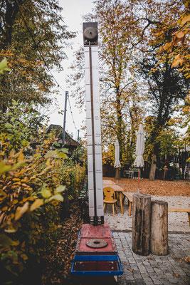 Der Kirchheimer Hirschgarten - Biergarten unter Kastanien - 19