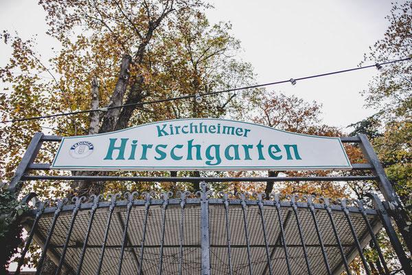 Der Kirchheimer Hirschgarten - Biergarten unter Kastanien - 14