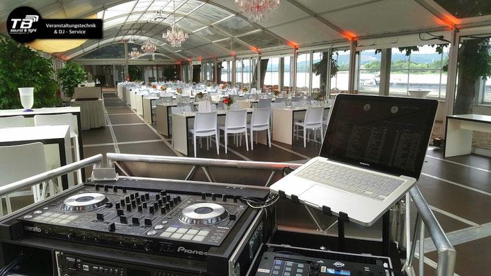 Event DJ im Rheinhotel Dreesen Bonn