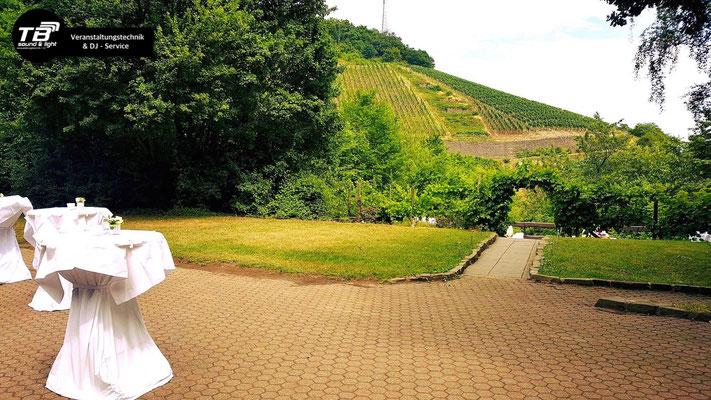 Hochzeits DJ in der Adenbachhütte Bad Neuenahr Ahrweiler - Sommer