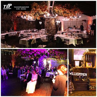Hochzeits DJ in der Adenbachhütte, Ahrweiler