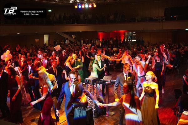 Veranstaltungstechnik + DJ für Abiball im Brückenforum Bonn