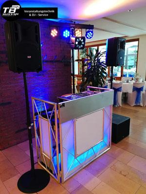 Hochzeits Dj im Waldcafe Bonn - Licht- und Tontechnik