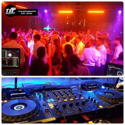 DJ für einen Abiball in der Stadthalle Troisdorf