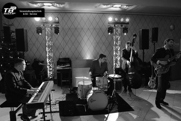 Veranstaltungstechnik + DJ Service & Band Support für Abschlussball im Königshof Bonn