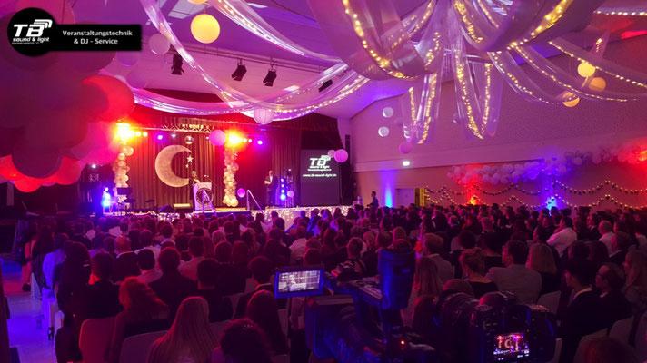Abiball 2019 im Tivoli Kastellaun - offizieller Teil, Bühnenprogramm. Ton, Licht & Medientechnik