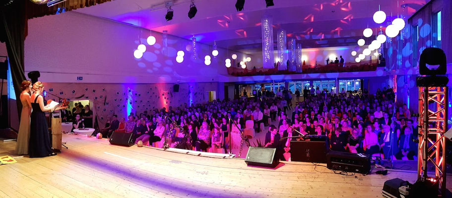 DJ + Veranstaltungstechnik für einen Abiball in Kastellaun