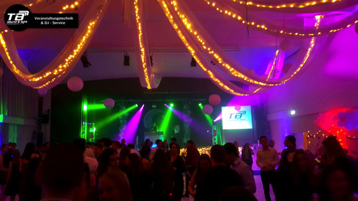 Abiball 2019 im Tivoli Kastellaun - Afterparty mit DJ, Tanzfläche & Lightshow