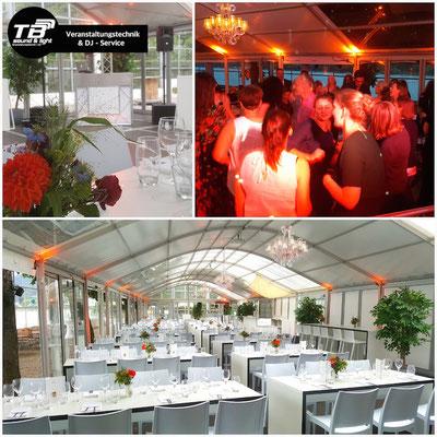 Event DJ im Rheinhotel Dreesen, Kastanienpavillon