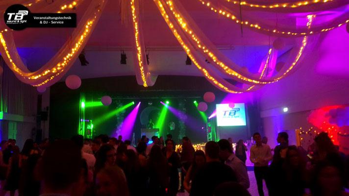 Abiball im Tivoli Kastellaun - Afterparty mit DJ und Lightshow