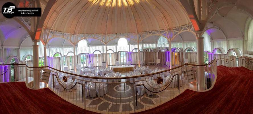 Hochzeits DJ Petersberg in der Rotunde des Steigenberger Grand Hotels