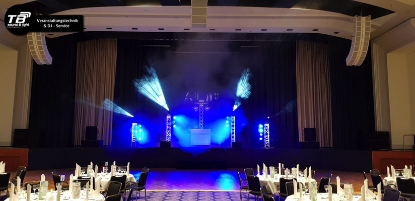 Event DJ + Ton&Licht für einen Abiball im Maritim Hotel Bonn