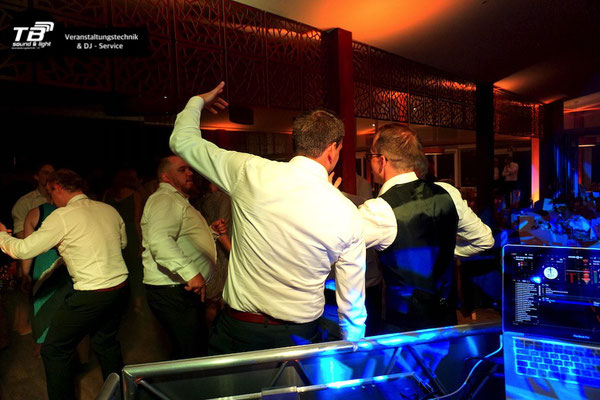 Hochzeits DJ Waldau, Bonn Venusberg, im Restaurant Bereich