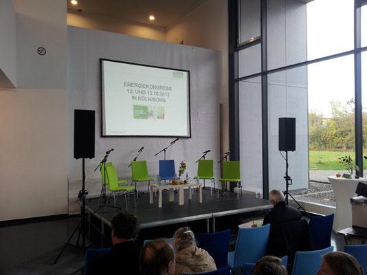 Greenpeace Energiekongress in der Alanus Hochschule Alfter