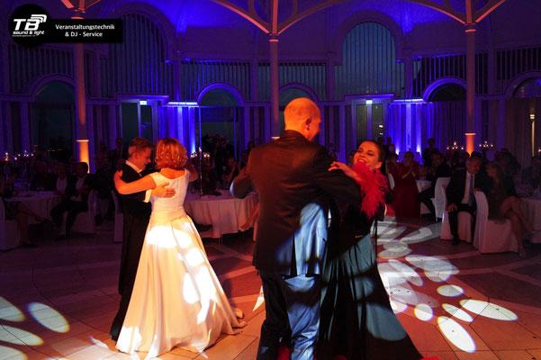 Hochzeits DJ Petersberg - nach dem Eröffnungstanz