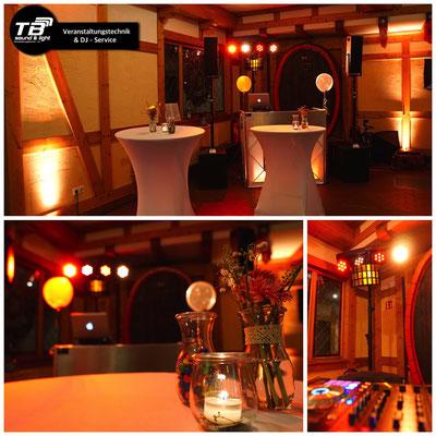 Hochzeits DJ im Weinkeller Dagernova Dernau