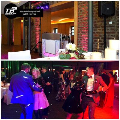 Hochzeits DJ im Burgpavillon der Burg Heimerzheim