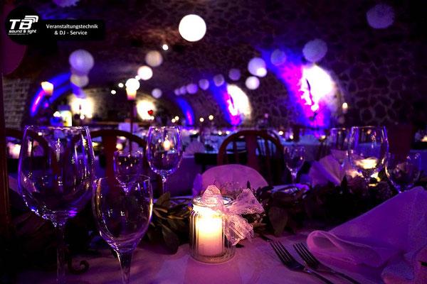 Hochzeits DJ im Gewölbekeller Bredershof Königswinter