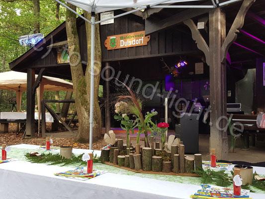 Hochzeits DJ in Duisdorf - Märchenhafte Wald-Hochzeit auf dem Grillplatz der Waldfreunde Duisdorf