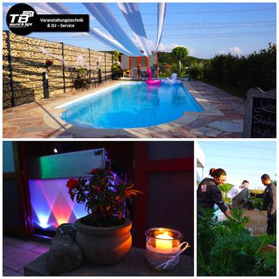 DJ für private Pool / Geburtstagsparty