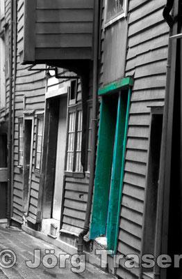Hanseviertel Bergen grün