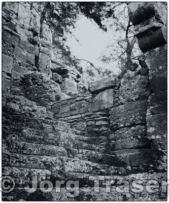Treppen Ruine Türkei