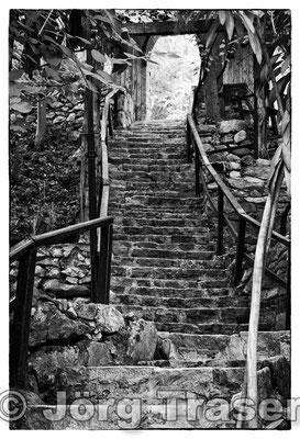 Türkei Treppe