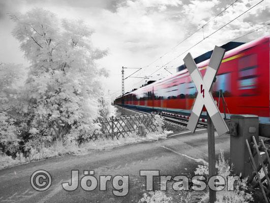 Infrarot Zug