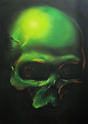 Green Skull (collection privée)