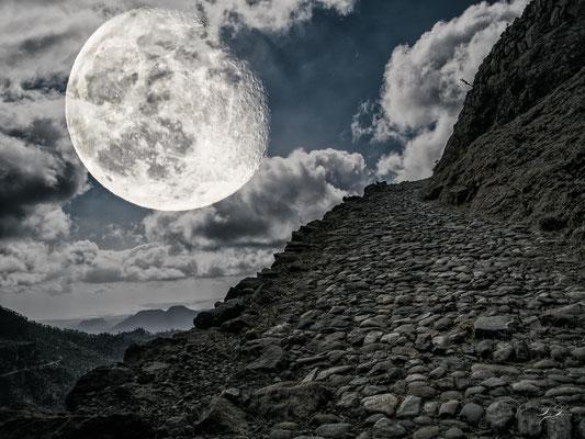 Der lange Weg zum Mond