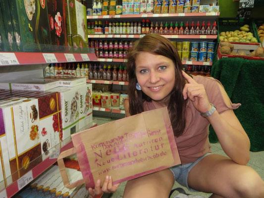 FR!SCH UND AUS IHRER REGION! Literatur im Supermarkt
