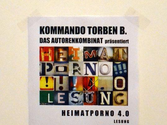 HEIMATPORNO 4.0 - Lesung in der Galerie Listros