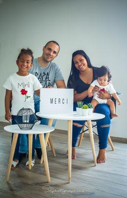 Lenna & sa famille