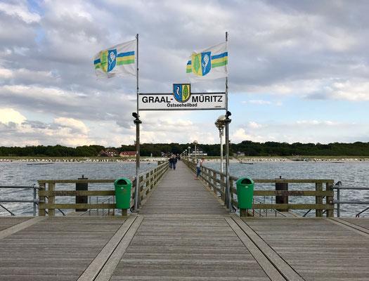 GraGraal-Müritz Seebrückeal-Müritz Seebrücke