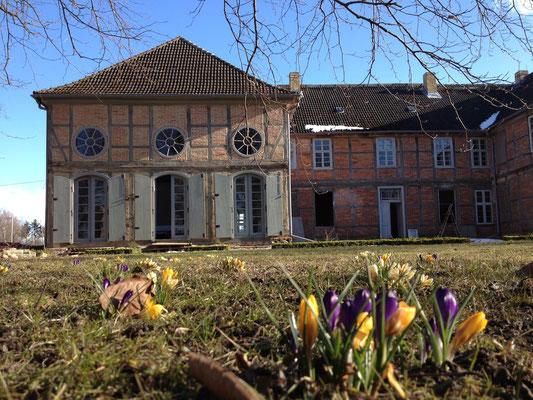 Frühjahr 2013 | Blick auf den Ostflügel