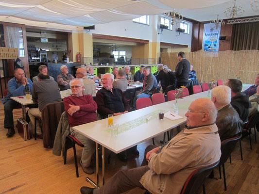 50 Mitglieder waren zur Frühjahrstagung in Oberdorla anwesend.