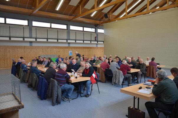 Eine gut besuchte Versammlung wie wir es in Thüringen gewohnt sind.