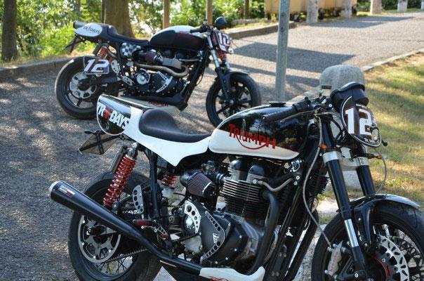 Triumph Bonneville Cafe Racer by FreeSpirits