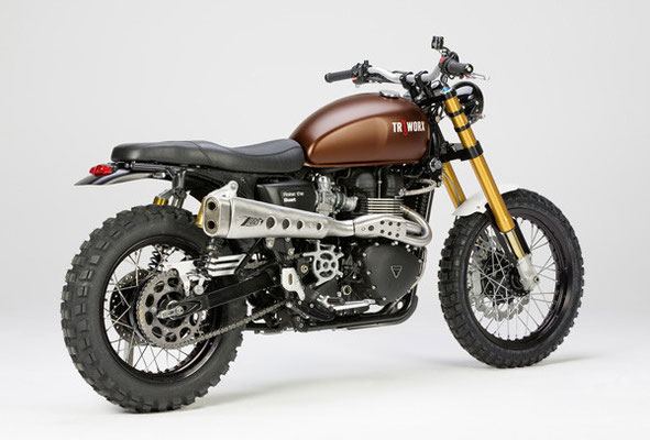 Triumph Scrambler Raise the dust Edition by LSL