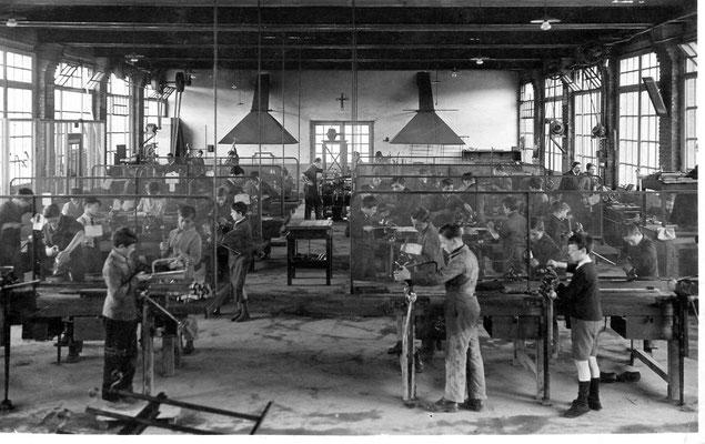 Atelier de mécanique 1935