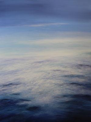 Sky Blue, 2021, Acryl auf Leinwand, 140x100 cm