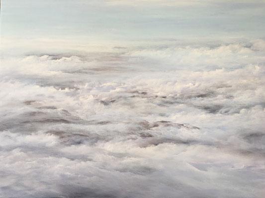Infinite Infinity, 2020, Acryl auf Leinwand, 80x100 cm