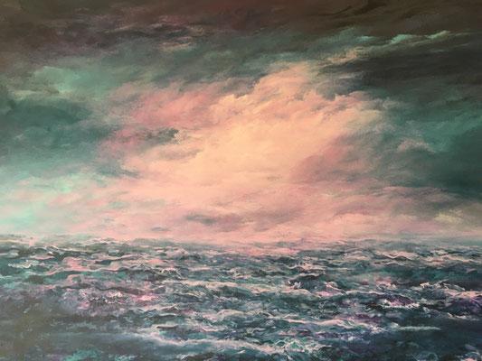 The Cloud, 2020, Acryl auf Leinwand, 100x140 cm