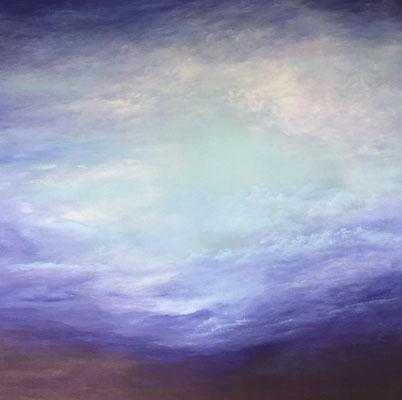 Lightnlightly, 2019, Acryl auf Leinwand, 140x160 cm