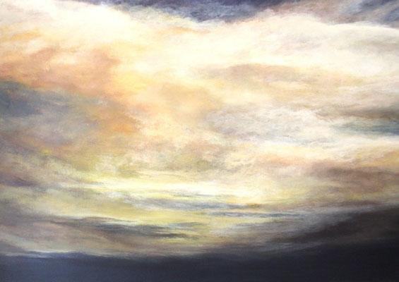 Cloudscape II, 2015, Acryl auf Leinwand, 100x140 cm